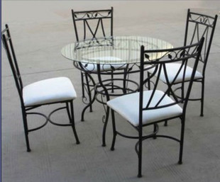 A buon mercato mobili continentale, tavoli e sedie in ferro battuto ...