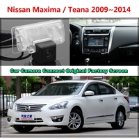 For Nissan Maxima Teana 2009 2013 Car Camera Connected Original Screen Monitor And Rearview Backup Camera