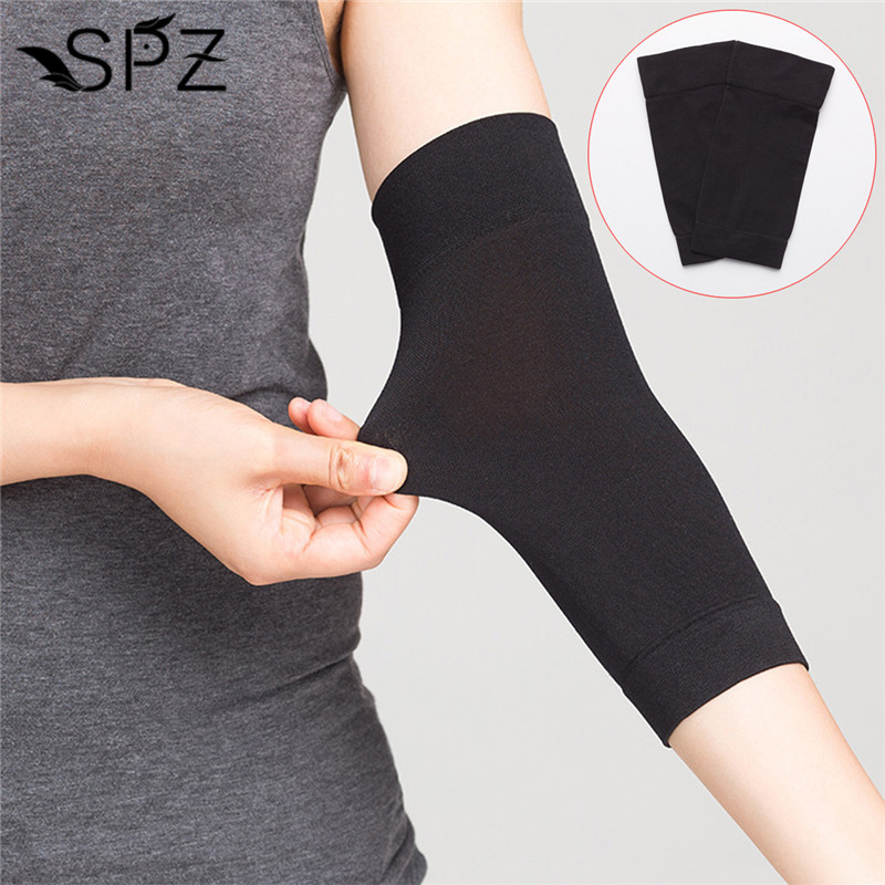 1 Pair Black Tan Tattoo Sleeves Covers Up Sleeves UV Protection Oversleeve Forearm Concealer Covers Up Tattoo Accessories