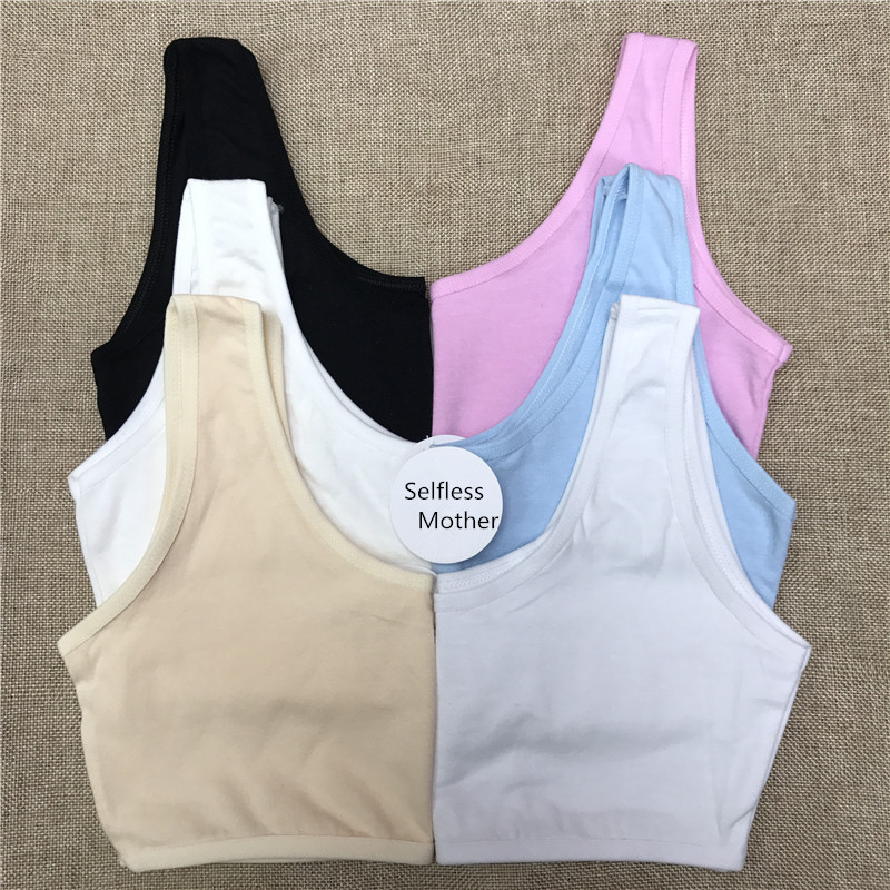 Baby Girls Top Clothes Underwear Bra New Girls Printing Underwear Bra Vest Children Underclothes Sport Undies