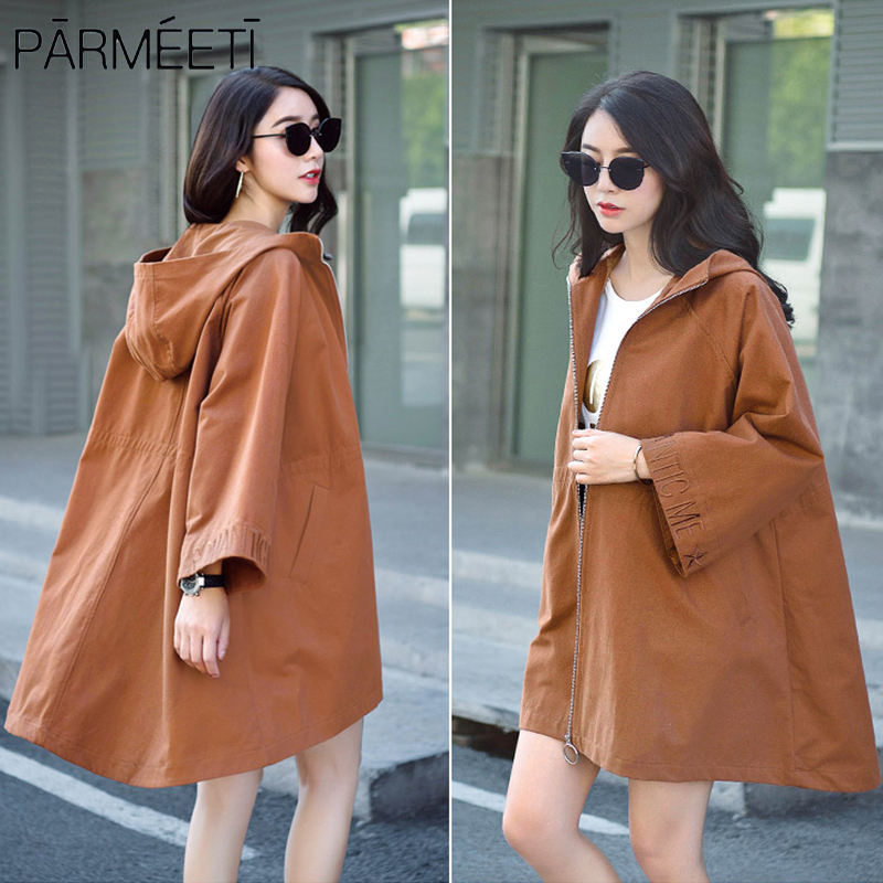 PARMEETI 100% cotton hiqh quality russian coat women girl lady Jackets windproof  hat zippers autumn winter spring PMTFY17032