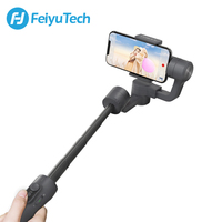 FeiyuTech Vimble 2 Feiyu 3 Axis Handheld Smartphone Gimbal Stabilizer with 183mm Pole Tripod for iPhone X 8 7 XIAOMI Samsung