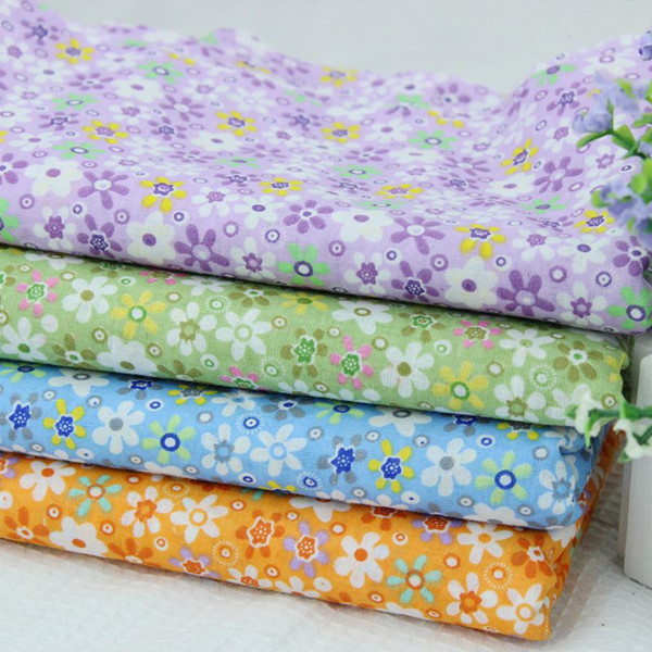 Flowers Series Cotton Fabric For Sewing Clothing 150cm Width Bedsheet Material Curtain Cloth