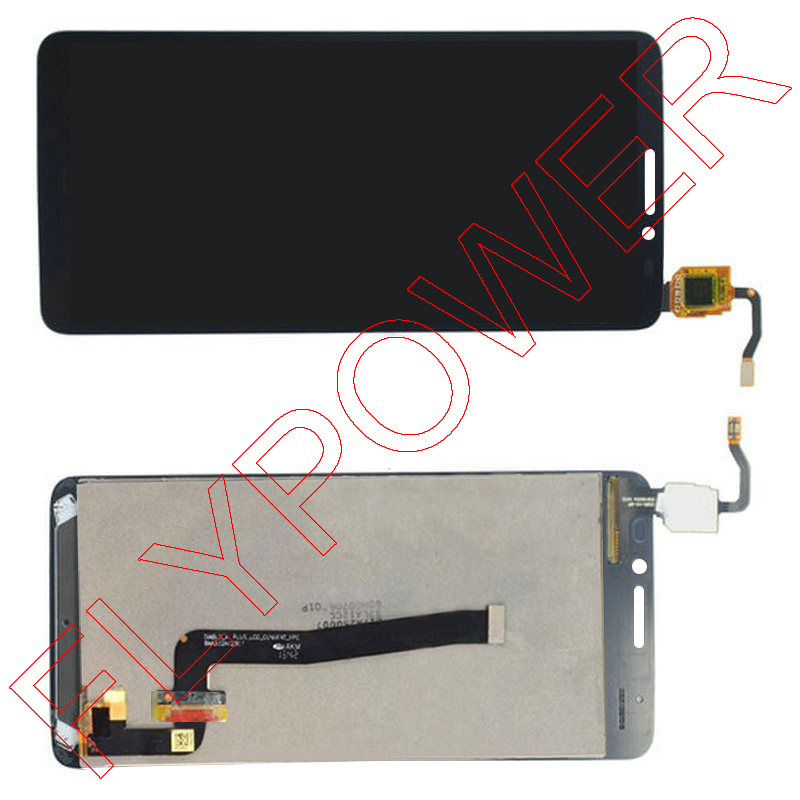 LCD Display with touch Screen FOR Alcatel One Touch Idol X+ X Plus OT6043 6043 6043D Assembly by free shipping