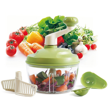 Multi-function Household Meat Grinder Vegetable Chopper Cutter Vegetable Fruits Slicers Kitchen Tools Hand Cutting Garlic Presse