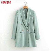 Tangada 2019 women suit blazer long sleeve ladies coat femal
