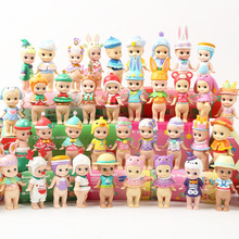 6pcs/set Kawaii Macarons Dessert Sonny Angel Dolls Collectible Action Figure Kewpie Limited Edition Christmas Gift Kids Toys кукла dreams sonny angel 1 0