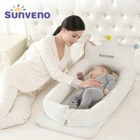 Sunveno ребенка со спальная кроватка кровать переносная детская кроватка складной мобильного автомобиль кровать Путешествия гнездо детская к