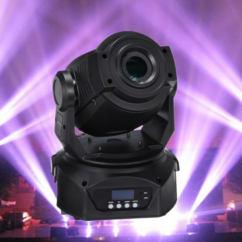 (Ship from Germany) Pro 30W DMX512 LED Spot Moving Head 12CH Club DJ Stage Effect Light Party Disco Laser light for Xmas Party laser head owx8060 owy8075 onp8170