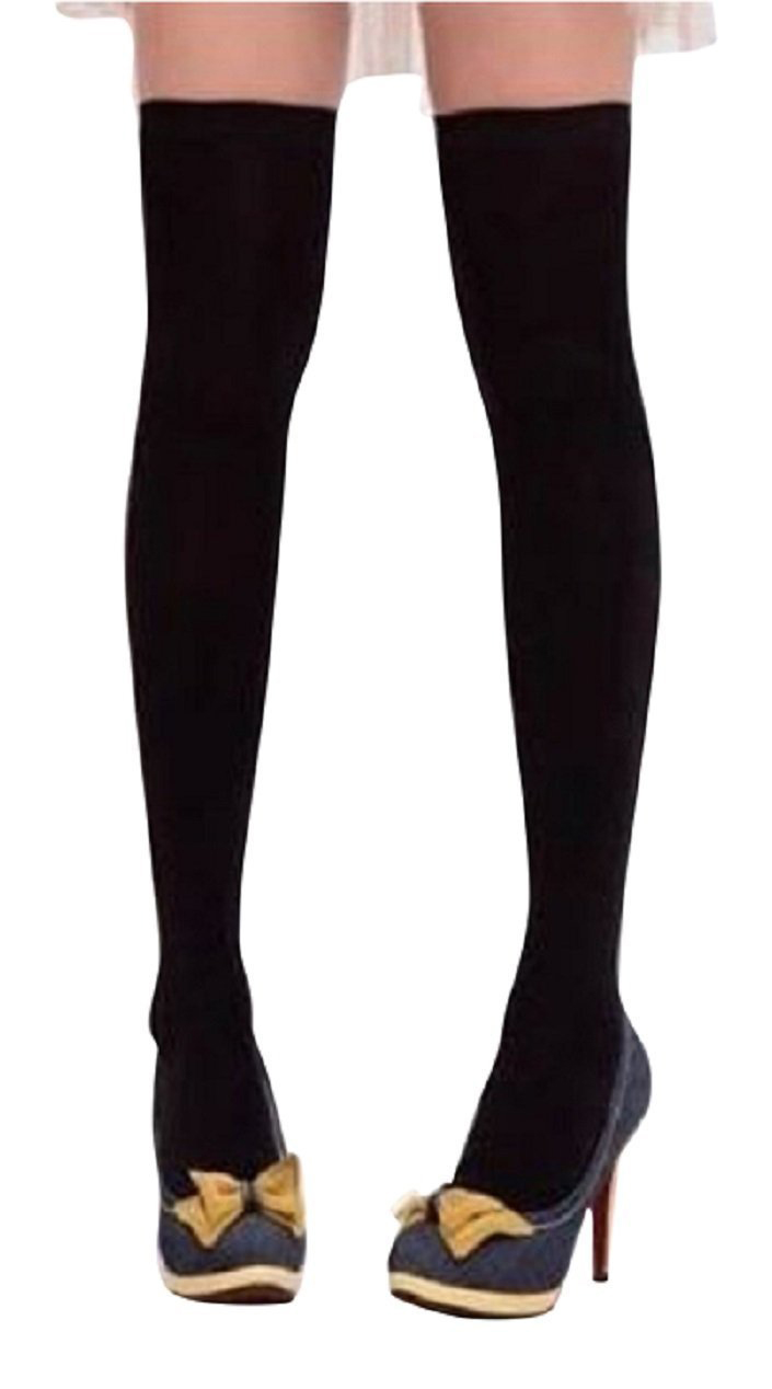 BFYL SODIAL(R) GIRLS BLACK Knee/Thigh High Socks Sockings Brand NEW Great Quality