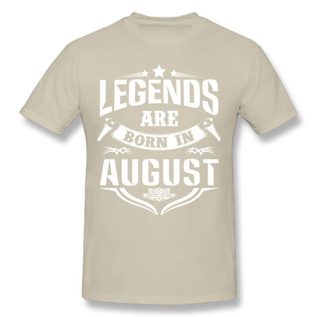 T Shirt Men Legends Are...