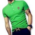 2017 Nuevo O Cuello Más El Tamaño T Shirts Hombres Camisetas Tops Camiseta Hombre de Los Hombres de Moda Casual Delgado Se Adapta A la Manga Corta Camiseta Del Verano camisas