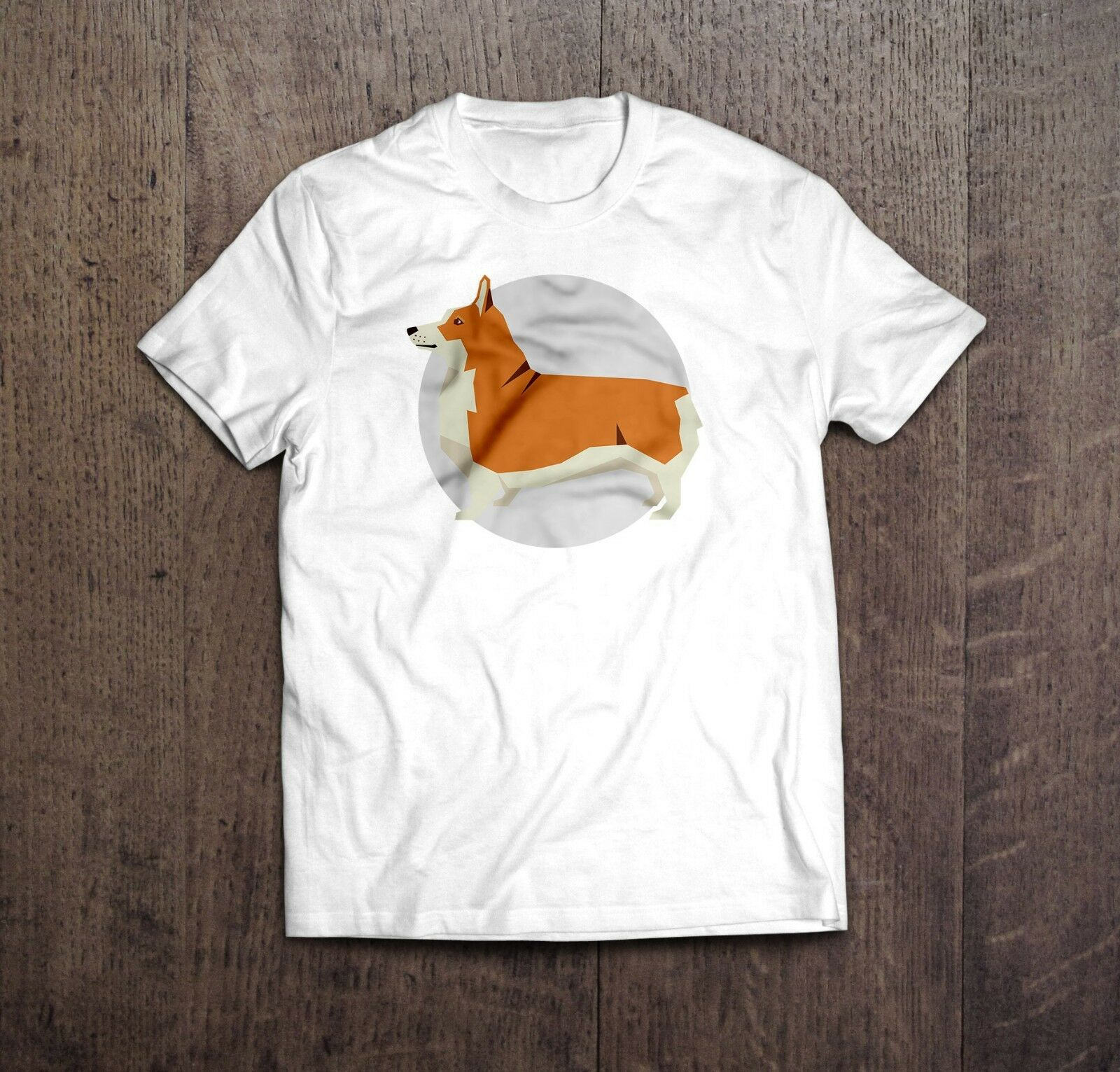 2019 Cool Pembroke Welsh Corgi Hond T-shirt In Zwart Of Wit. Super Cool Hoge Kwaliteit Tee. Tee