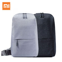 In Stock Xiaomi Mi Backpack 4L Polyester Bag Urban Leisure Sports Chest Pack Bags Small Size Shoulder Unisex Rucksack Men Women