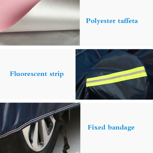 Image 4 - Universal Full Car Covers Snow Ice Dust Sun UV Shade Cover Dark Blue Size 9 Sizes Auto Car Outdoor Protector Cover