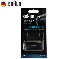 Braun Electric Razor blade 11B foil & Cutter reemplazo set para la serie 1 shavers (110 120 140 150 5684 5682 nuevo 130)