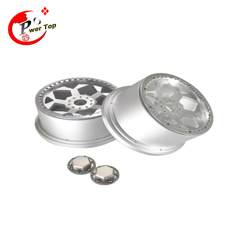 King Motor Baja Rear T1000 Hunter alloy wheel hub rim for HPI BAJA 5T Parts Rovan Free Shipping king motor baja alloy roto start pull starter for hpi baja 5b parts free shipping