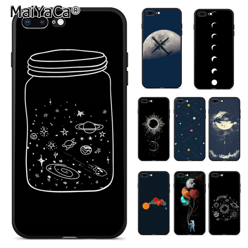 Cellphones & Telecommunications Maiyaca Cute Cartoon Wishing Bottle Planet Moon Soft Tpu Phone Case For Apple Iphone 8plus 7 6 6s Plus X 5 5s Se 5c Case Cover Invigorating Blood Circulation And Stopping Pains Phone Bags & Cases