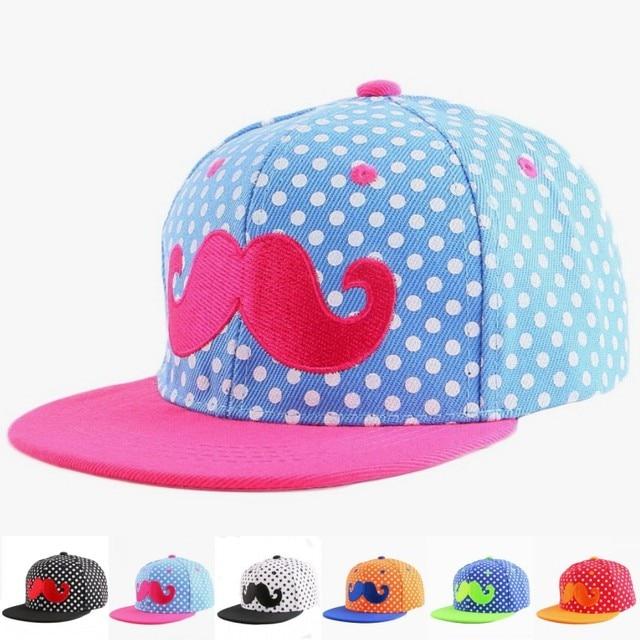 39331e247f522 De 3 a 12 años los niños gorra de béisbol hip hop snapback bordado Diseño de