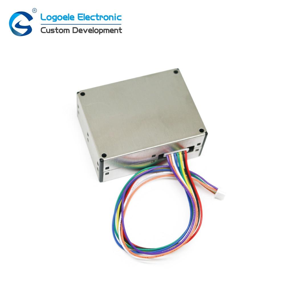 Le module de capteur de poussière Laser de haute qualité PM1.0 PM2.5 PM10 peut être connecté au ventilateur intégré de l'ordinateur, petit volume de type D
