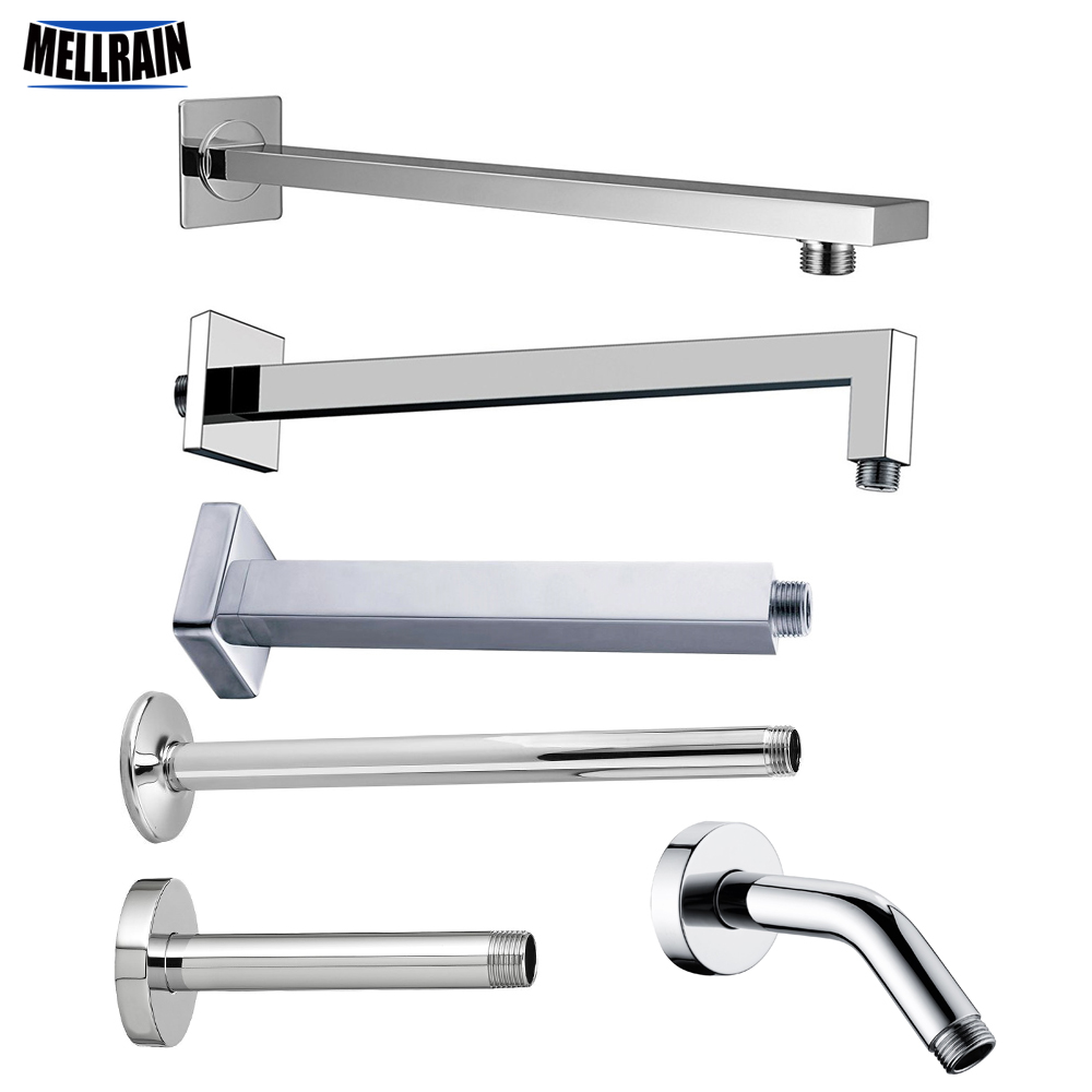 Wall Mounted & Ceiling Mounted Shower Arm Stainless Steel Material Chromed Bathroom Shower Accessories 7 Choice Free ShippingWall Mounted & Ceiling Mounted Shower Arm Stainless Steel Material Chromed Bathroom Shower Accessories 7 Choice Free Shipping