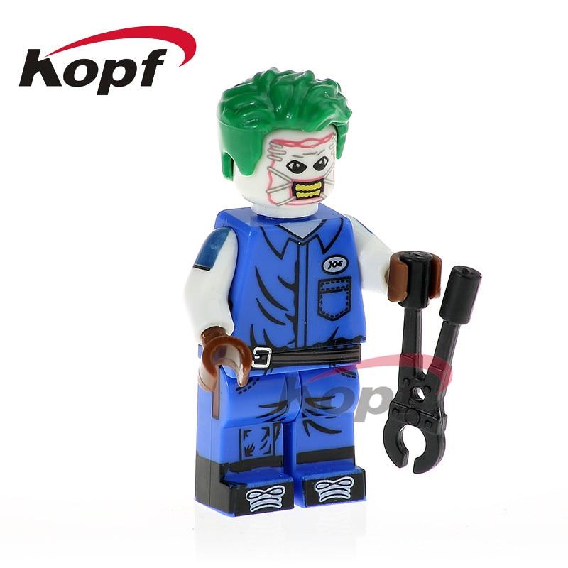 Single Sale Guardian Joe Super Heroes Female Captain America Iron Man Reverse Flash Building Blocks Children Gift Toys PG336