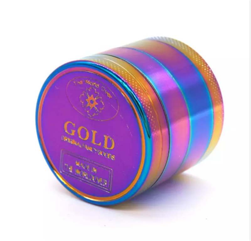 40mm Violet Herb Grinder Grinder Metal Mini Herbal Crusher Tobacco Smoke Smoking Pipe Hookah Shisha Chicha Accessories in Tobacco Pipes Accessories from Home Garden