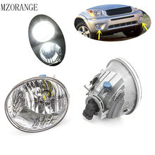 купить LED Front Bumper Fog Light Fog Lamp For Toyota RAV4 2004 2005 for Toyota Avalon 2005 2006 2007 Clear Len Lower Bumper Fog Lamp дешево