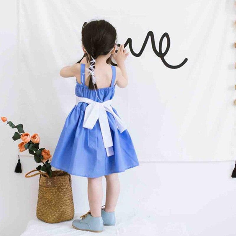 elsa vestido bonito roupas de bebê d0017