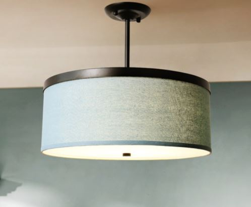 American ceiling lamp Modern minimalist Small living room study LED bedroom dining room round ceiling lamp|Ceiling Lights| |  - title=
