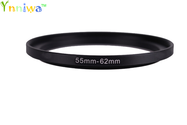 55-62mm Metal Step Up Rings Lens Adapter Filter Set