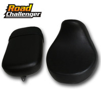 Front and Rear Passenger Leather Pillion Cushion Driver Seat For Honda Shadow VT750 VT750C VT750CD 08 13 99 2000 2001 2002