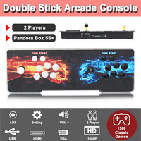 Pandora S Box 1388 In 1 Game Arcade Console Usb Joystick Arcade Buttons With Light 2