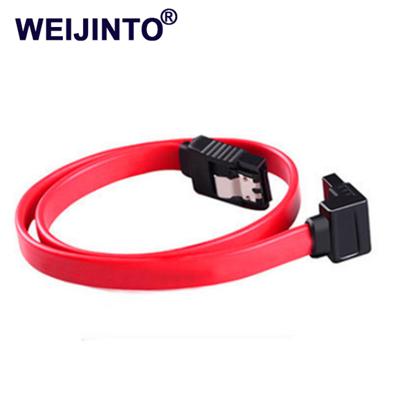 High Speed Sata3 sataIII cable Straight Right Angle 6Gbps 45M 3.0 6GB/s III SATA 3 Cables 2pcs high quality hdd ssd sata3 0 iii 6gb 50cm straight cables right angle cable serial ata hard disk data line soft beautiful