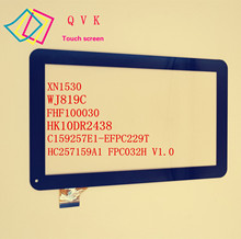10.1inch for Irbis TZ13 TZ14 M12CG HC257159A1 FPC032H V1.0 C159257E1-DEFPC229T XN1530 FHF100030 tablet capacitive touch screen