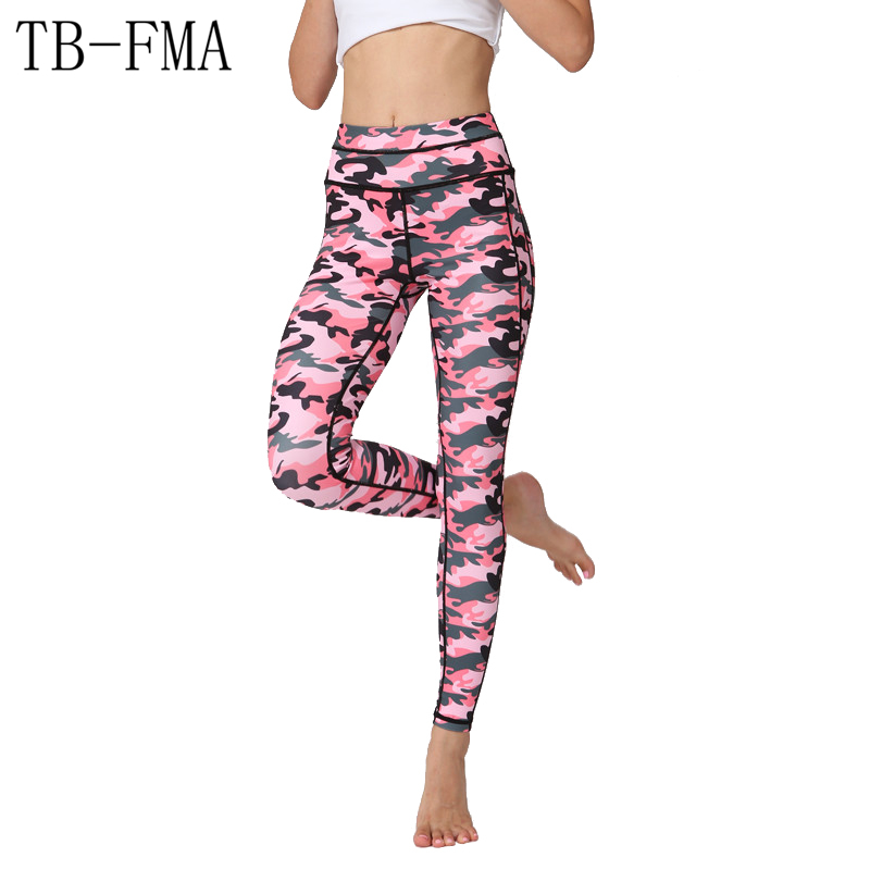 Floral Printed Yoga Pants Women High Waist Fitness Leggings Push Hip Athletic Sport High Stretchy Workout Running Tights