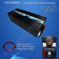 5kw 5000watt pure sine wave dc to ac power inverter 24v to 230v