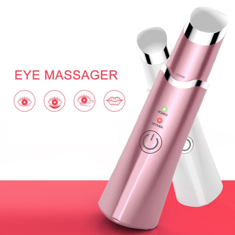 Electric Eye Massager Vibration Magic Wand Remove Wrinkles Dark Circles Puffiness Anti-wrinkle Thin Face Pen Beauty Tools