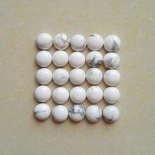 Белый howlite 8 мм Хорошее качество натуральный камень Круглый