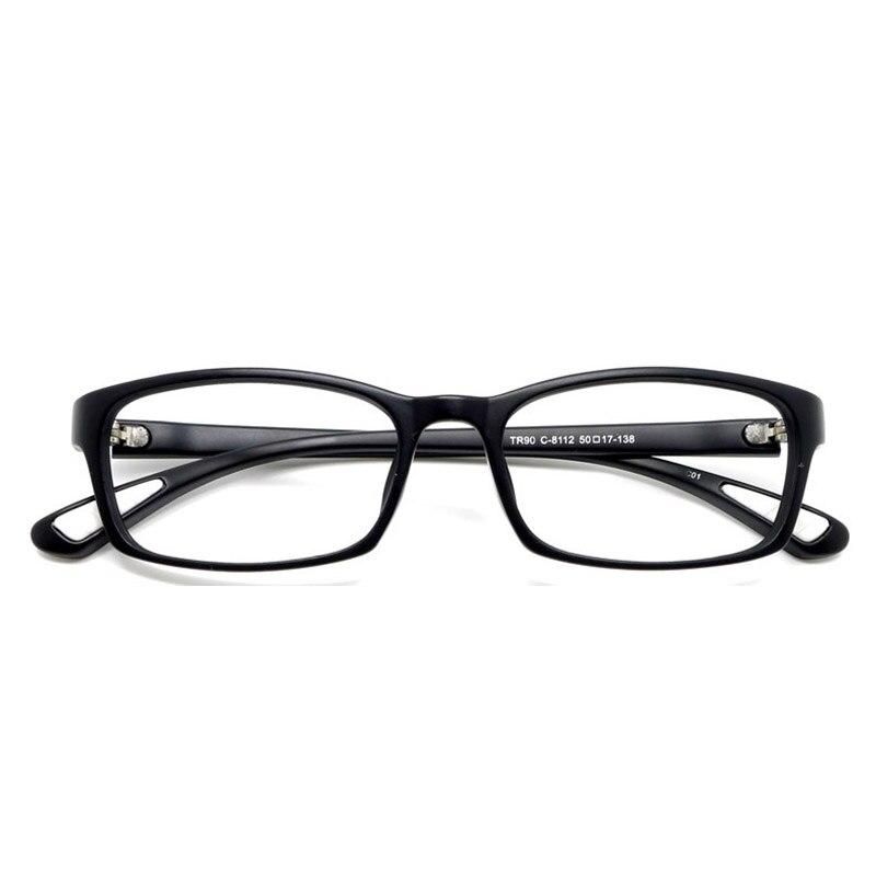 Toptical ultra light tr90 Gafas mate negro completo Marcos flexible ...