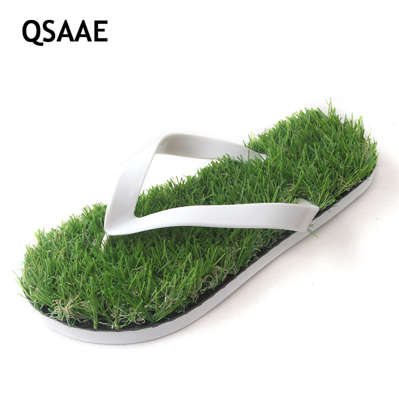 2017 New Men Imitation Grass Flip Flops For Men Summer Beach Flip Flops Flat Shoe Out Sandals Slipper Women Sandals BF22 набор фиксаторов для дизельных двигателей land rover 2 5 td5 jonnesway al010231