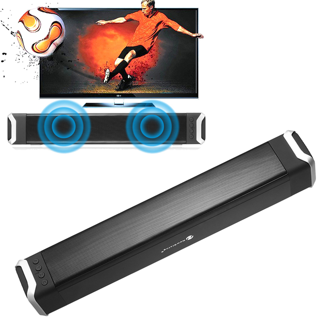 Wireless Bluetooth Stereo Speaker Bass Surround Sound 5W AUX IN Speakers With Microphone Support FM
