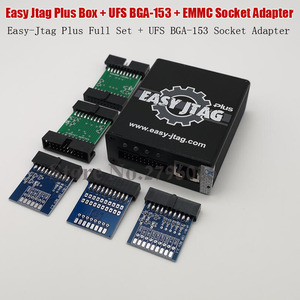 Image 5 - 2020 oryginalny Easy Jtag Plus gniazdo EMMC + easy jtag Plus UFS BGA 153 Adapter gniazda