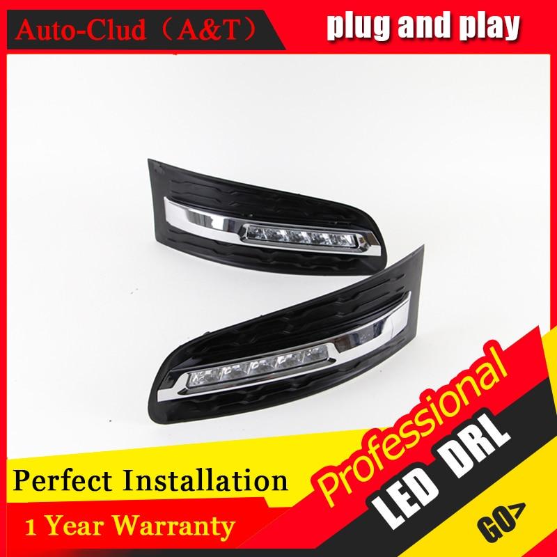 Auto Clud car styling For Chevrolet Cobalt LED DRL Cobalt High brightness guide LED DRL led fog lamps daytime running light B st чехол seintex 85804 для chevrolet cobalt