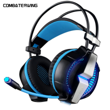 G7000 7 1 Virtual Surround Sound USB Vibration Stereo Gaming Headset with Mic for PC Games