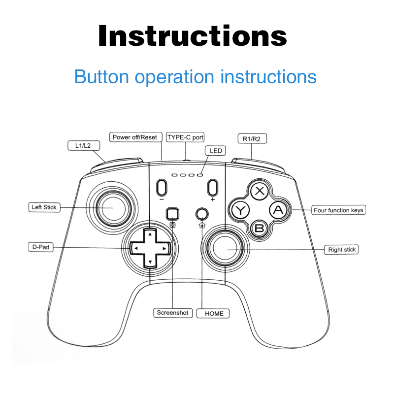 Image 4 - DATA FROG Game Controller For Nintendo Switch Controller Wireless