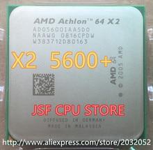 D'origine AMD Athlon 64X2 5600 + CPU Processeur (2.8 Ghz/1 M/1000 GHz) Socket am2 940 broches (de travail 100% Livraison Gratuite)