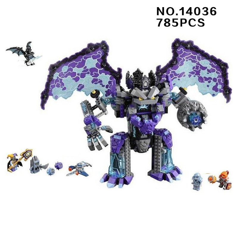 2018 next cavalier nexus knight The stone colossus of Ultimate destruction building block Joker Jestro figures lepine 70356 toys 785pcs knight stone colossus of ultimate destruction model building blocks 14036 assemble bricks toys nexus compatible with lego