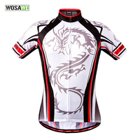 WOSAWE Ropa Ciclismo Cycling Jersey Men Mtb Bike Bicycle Outdoor Sport Ride Shirt Cycle Wear Maillot