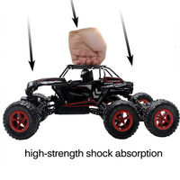 Climbing Vehicle Red Off-Road Truck Crawler Electronic 2.4G Rc Toys High Speed Rc Car